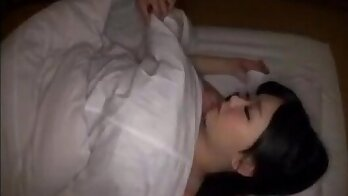 irlfriends sleeping together and threeway sex with mom