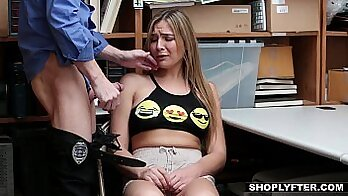 Blair Williams Gets Punished For Being A Teenager