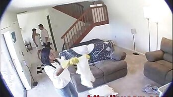 Hidden Cam For Hot Lesbians Kelly Sin, Lisa While My Wife Is On Couch!