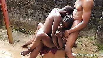 Busty femdom Dominica Tatar is studded with big cocks