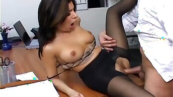 Bigtit secretary fucked in the office