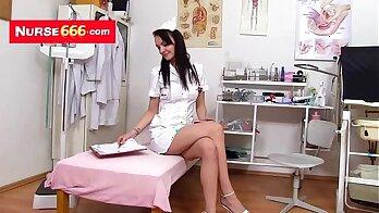 Alexis Shine In Doctors Uniform