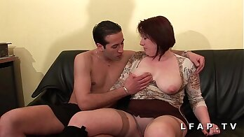 Bondage dp in the casting couch