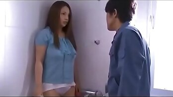 Crap Married Housewife Chatting with her husband
