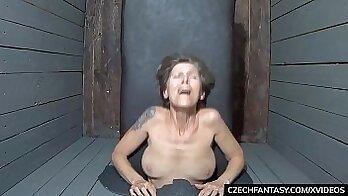 Big Tit Amy San Dimas Fucked at Gloryhole by Gangbangs