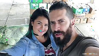 BBW Latin Babe Anal Sex Facial