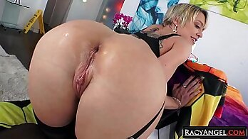 Busty MILF Cherie Deville analfucked at government caretaking place