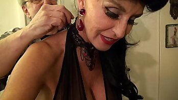 Awesome white granny rides BBC - More Beauty In The Room