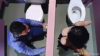 Bathroom Sex For Gloryhole MILFF