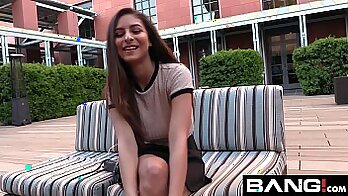 College teen group-sex from behind on a camera