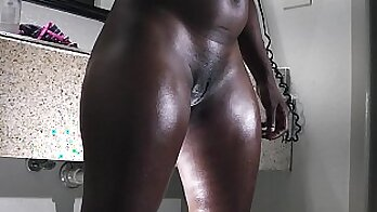 Big Butt Ebony gets savage sex with the gals