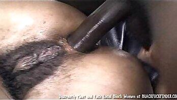black hairy bareback anal