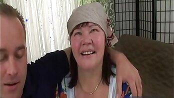 Perfect Hungarian Grandmother Enjoys Her Playtime