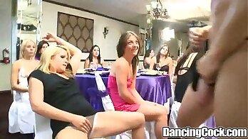 Crazy sex party titfucking techniques