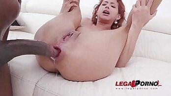 sofie bbc double laspet Girl try anal