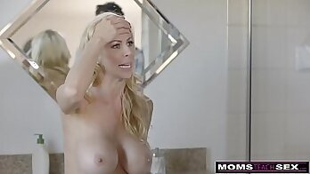 cheater milf and her GF gets wet from boyfriend