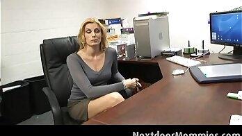 Black cock loving hottie swallows cum