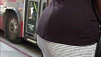 Ebony mini fucked own butt