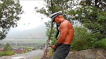 chinese taxi driver turning sexy